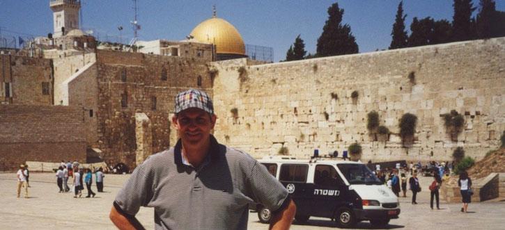 Jerusalem at the Wailing Wall