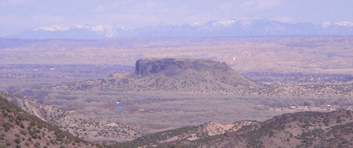 Black Mesa, San Ildefonso Pueblo