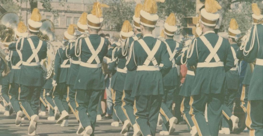 Pampa Band Marching Away