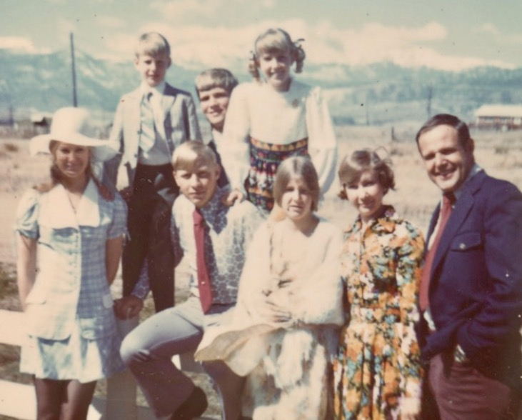 the Abel Family in C-Springs