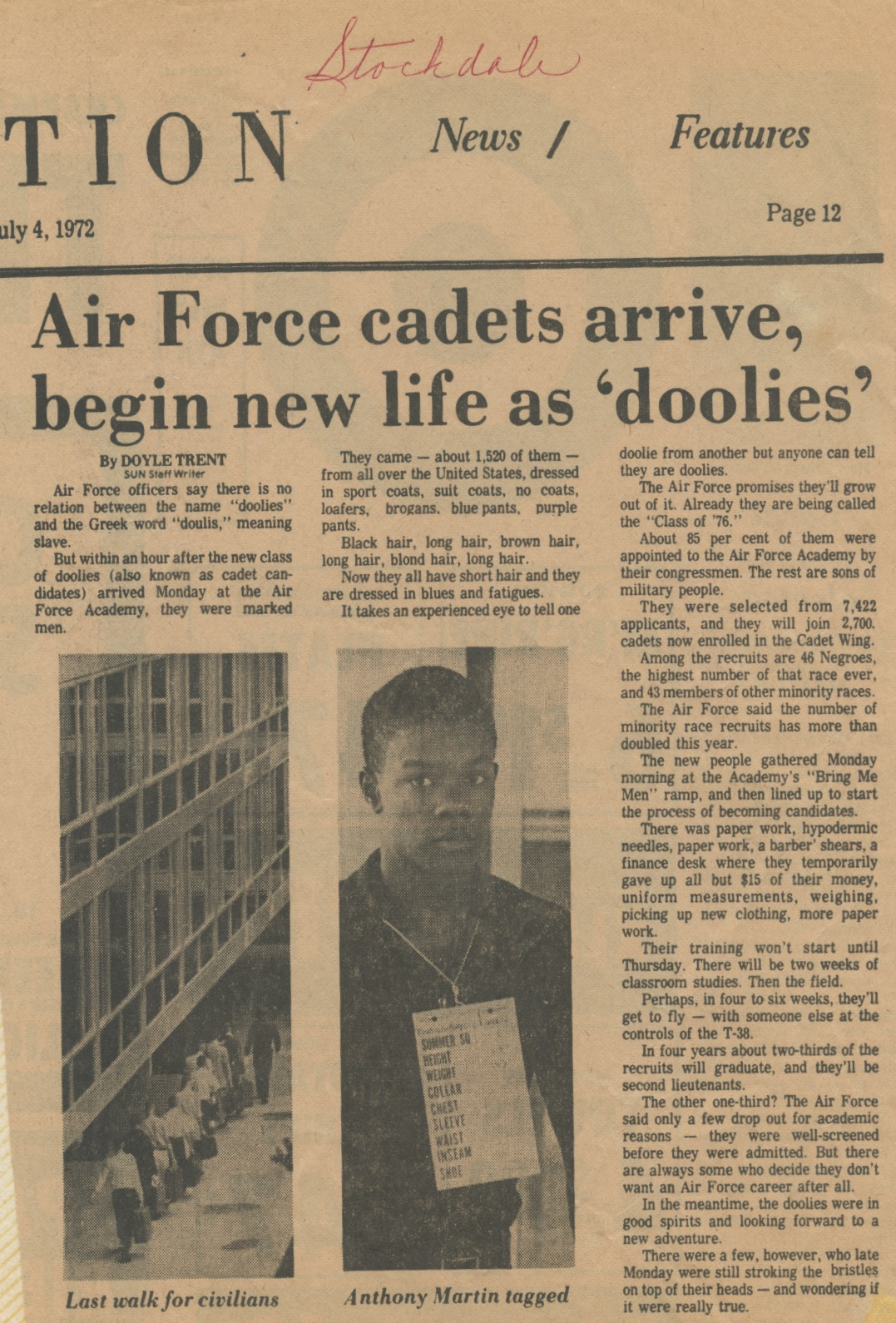 COS news July 1972