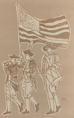 Fife and Drum drawing