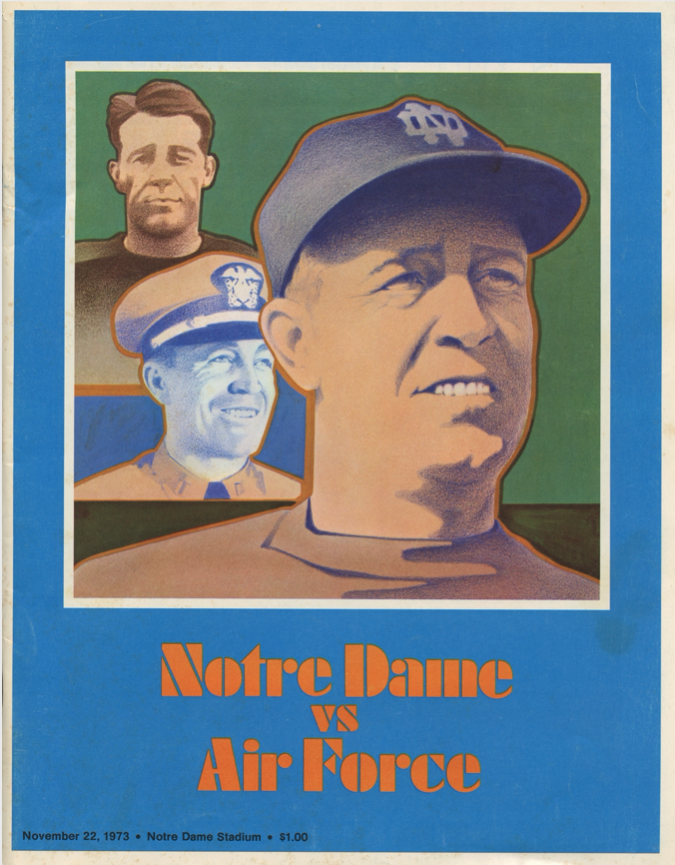 AFA vs Notre Dame Game Program