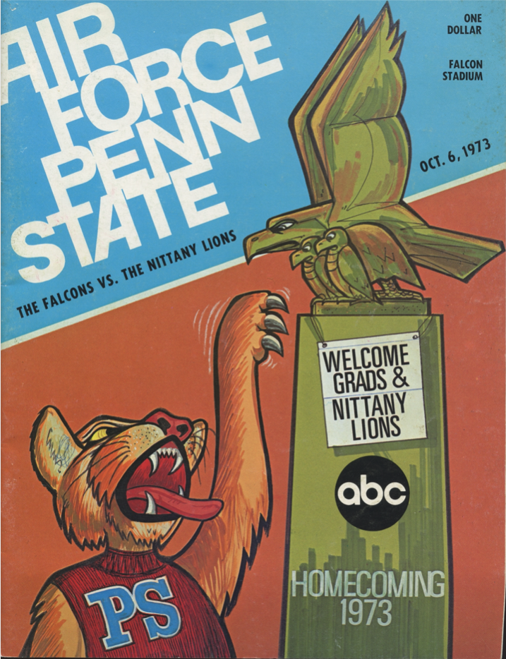 AFA vs Penn State Football Program Cover