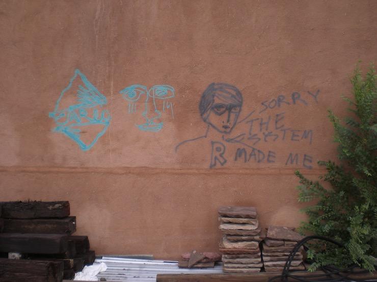 tagged buildings in Santa Fe