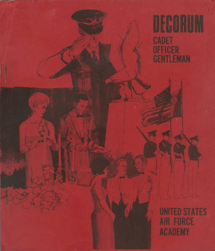 Cover 1972 Cadet Decorum Handbook