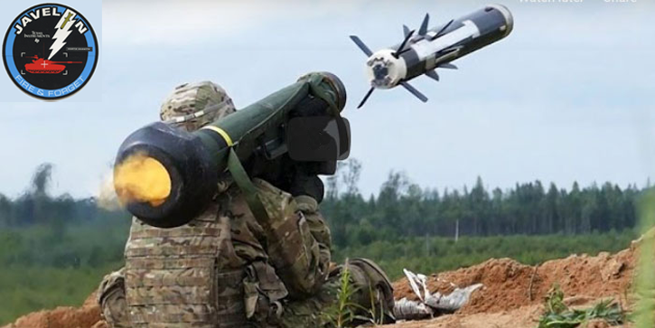 Javelin Missile Launch