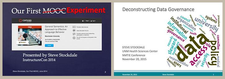 MOOC, Data Gov Presentations
