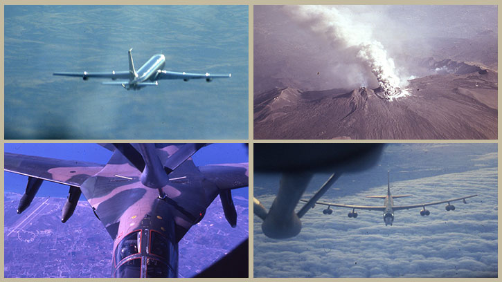 KC-135 Flying Collage